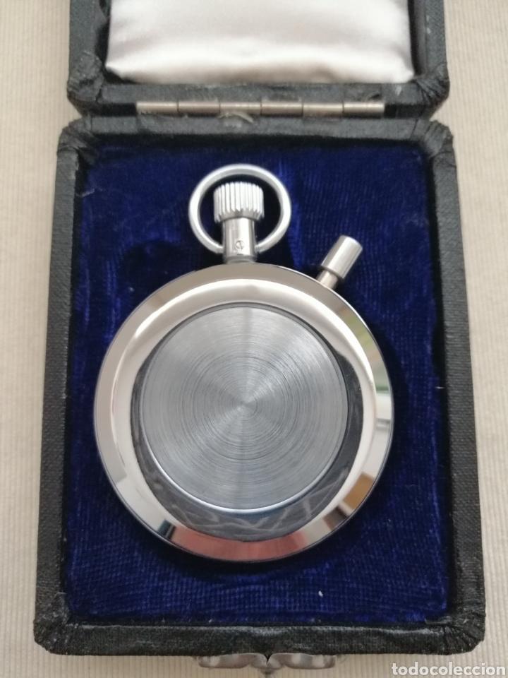 Relojes de bolsillo: Antiguo Cronómetro Cuerda Manual. - Foto 5 - 184253617