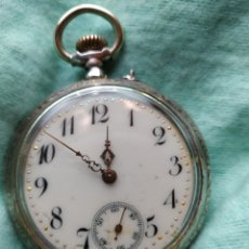 Relojes de bolsillo: RELOJ REMONTOIR CYLINDRE 10 RUBIS. Lote 184303821