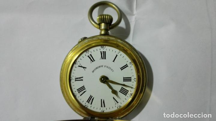 Relojes de bolsillo: ANTIGUO RELOJ ROSKOPF PATENT, DIAMETRO 53 MM, FUNCIONA - Foto 3 - 184335443