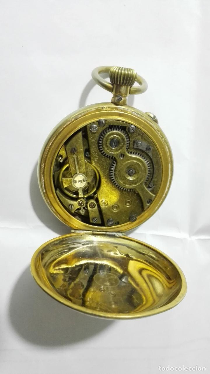 Relojes de bolsillo: ANTIGUO RELOJ ROSKOPF PATENT, DIAMETRO 53 MM, FUNCIONA - Foto 4 - 184335443