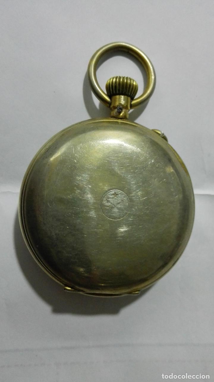 Relojes de bolsillo: ANTIGUO RELOJ ROSKOPF PATENT, DIAMETRO 53 MM, FUNCIONA - Foto 6 - 184335443