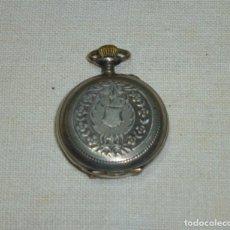 Relojes de bolsillo: RELOJ DE BOLSILLO DE PLATA.3 TAPAS MARCA K & L.TAMAÑO PEQUEÑO.NO FUNCIONA.. Lote 184821322