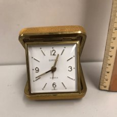 Relojes de bolsillo: RELOJ DESPERTADOR DE VIAJE - 'EUROPA 2 JEWELS' - AÑOS 60 - GERMANY. Lote 184858502