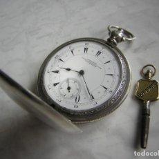 Relojes de bolsillo: RELOJ DE BOLSILLO LONGINES OTOMANO DE PLATA AÑO 1900. Lote 184892176