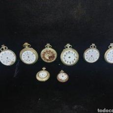 Relojes de bolsillo: RELOJES DE BOLSILLO PARA PIEZAS. Lote 184913902