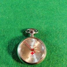 Relojes de bolsillo: RELOJ DE ENFERMERA *THERMIDOR * 17 RUBIS, ANTICHOC ! 15 PULSATIONS. LEER DESCRIPCIÓN. Lote 185737861
