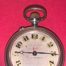 Relojes de bolsillo: ANTIGUO RELOJ DE BOLSILLO CANÓNICO DE VILLAFRANCA. Lote 185738952