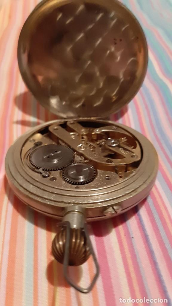 Relojes de bolsillo: ENORME RELOJ BOLSILLO GOLIAT FUNCIONANDO RAREZA MUY BUEN ESTADO VER FOTOS NÚMEROS ROMANOS pvp 450,00 - Foto 2 - 180042106
