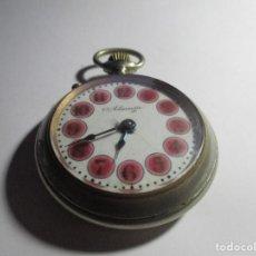 Relojes de bolsillo: RELOJ ROSKOPF FUNCIONANDO 54 MM BONITA ESFERA ANTIGUO . Lote 185895313