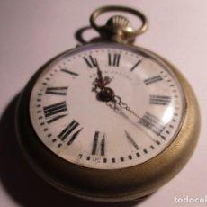 Relojes de bolsillo: RELOJ DE BOLSILLO ANTIGUO 54 MM FUNCIONANDO ROSKO PF . Lote 185898463