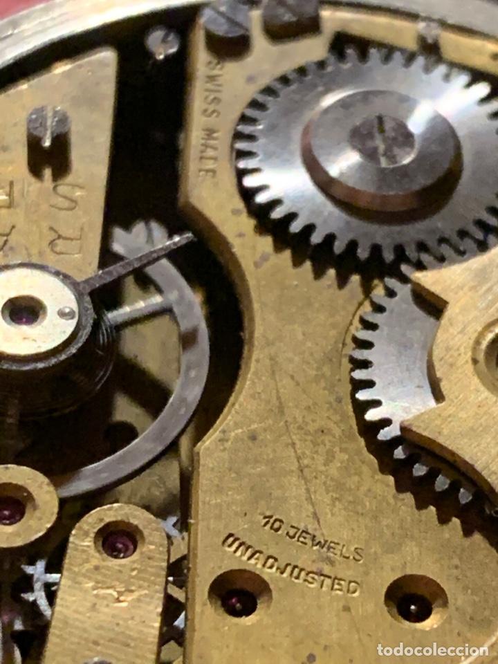 Relojes de bolsillo: Antiguo reloj de bolsillo Roskopf Patent. Funciona - Foto 6 - 185929085