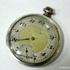 Relojes de bolsillo: RELOJ DE RELOJERIA LUIS MORERA DE VALENCIA. PLATA 0,800.. Lote 185983202