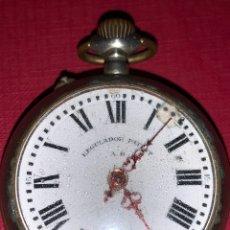 Relojes de bolsillo: ANTIGUO RELOJ DE BOLSILLO PATENT. Lote 186004412