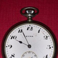 Relojes de bolsillo: ANTIGUO RELOJ DE BOLSILLO CYMA. Lote 186006607