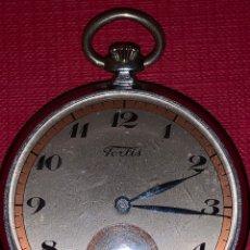 Relojes de bolsillo: ANTIGUO RELOJ DE BOLSILLO FORTIS. ÉPOCA ART-DECÓ. Lote 186006920