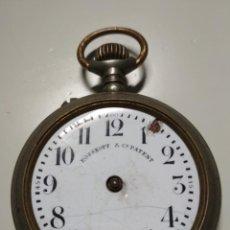Relojes de bolsillo: RELOJ ROSSKOPF & C. PATENT. Lote 186026836