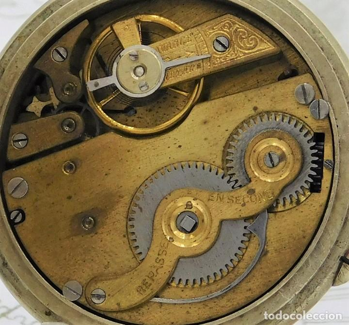 Relojes de bolsillo: SYSTEME ROSKOPF PATENT-Reloj de bolsillo-CIRCA 1900-FUNCIONANDO - Foto 5 - 186064430