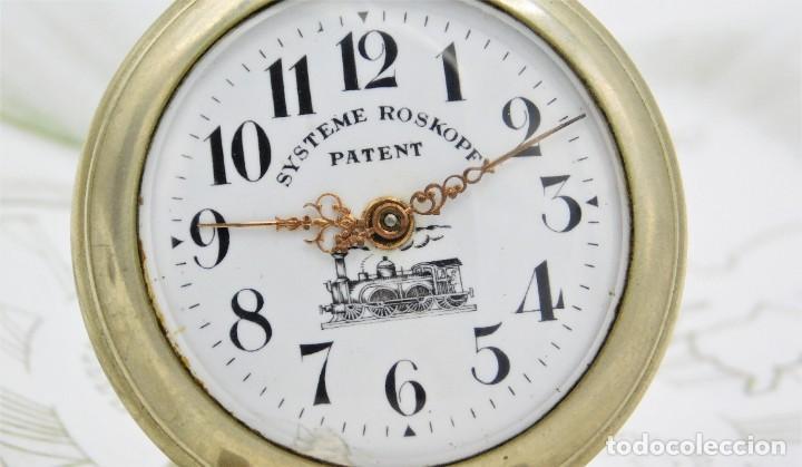 Relojes de bolsillo: SYSTEME ROSKOPF PATENT-Reloj de bolsillo-CIRCA 1900-FUNCIONANDO - Foto 6 - 186064430