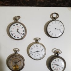 Relojes de bolsillo: RELOJES DE BOLSILLO. Lote 186084752
