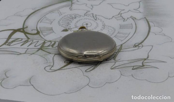 Relojes de bolsillo: RARO-TAVANNES WATCH Co.-RELOJ DE BOLSILLO SABONETA-ESFERA BRAILLE-CIRCA 1920-3 TAPAS-FUNCIONANDO - Foto 9 - 136060330
