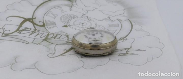 Relojes de bolsillo: HEBDOMAS-RELOJ DE BOLSILLO-8 DÍAS-CIRCA 1920-FUNCIONANDO - Foto 10 - 141717322