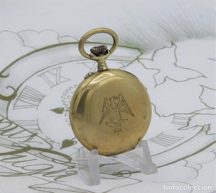 Relojes de bolsillo: MUY BONITO RELOJ DE BOLSILLO-CIRCA 1920-FUNCIONANDO- - Foto 6 - 132199766