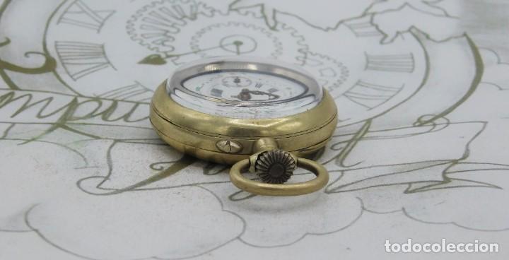 Relojes de bolsillo: MUY BONITO RELOJ DE BOLSILLO-CIRCA 1920-FUNCIONANDO- - Foto 10 - 132199766