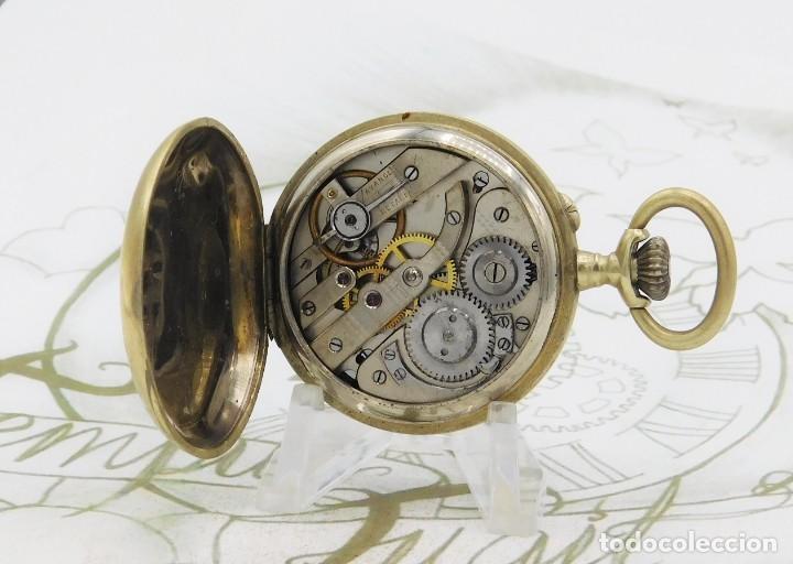 Relojes de bolsillo: MUY BONITO RELOJ DE BOLSILLO-CIRCA 1920-FUNCIONANDO- - Foto 4 - 132199766