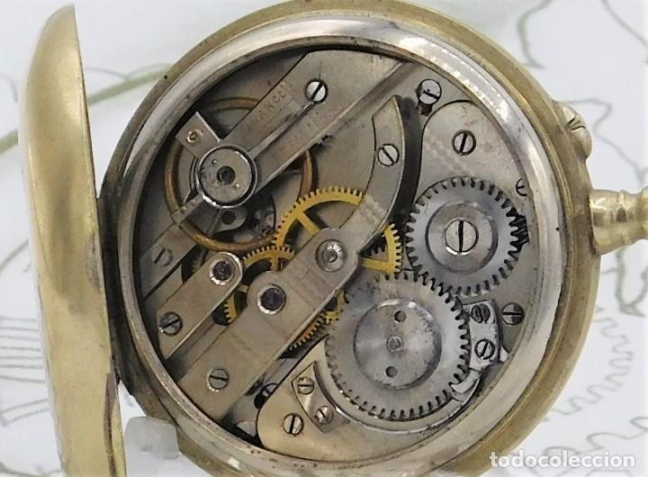Relojes de bolsillo: MUY BONITO RELOJ DE BOLSILLO-CIRCA 1920-FUNCIONANDO- - Foto 8 - 132199766