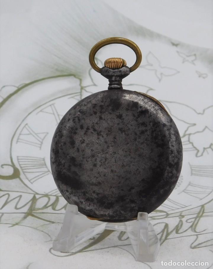 Relojes de bolsillo: ZENITH-GRAN PRIX 1900-RELOJ DE BOLSILLO-2 TAPAS-CIRCA 1920-FUNCIONANDO - Foto 2 - 142196926