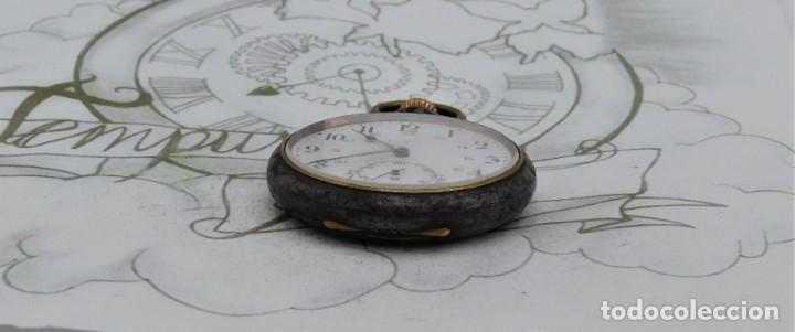 Relojes de bolsillo: ZENITH-GRAN PRIX 1900-RELOJ DE BOLSILLO-2 TAPAS-CIRCA 1920-FUNCIONANDO - Foto 11 - 142196926