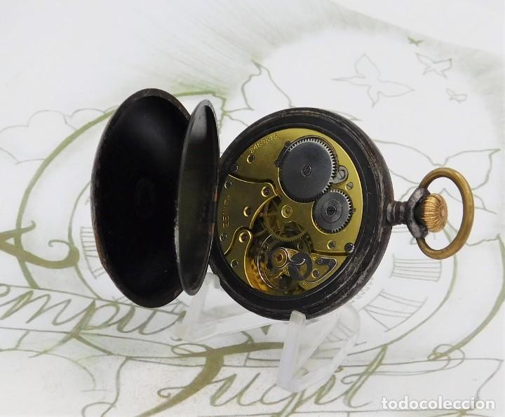Relojes de bolsillo: ZENITH-GRAN PRIX 1900-RELOJ DE BOLSILLO-2 TAPAS-CIRCA 1920-FUNCIONANDO - Foto 4 - 142196926