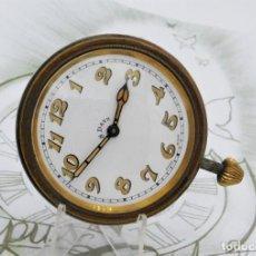 Relojes de bolsillo: GRAN RELOJ 8 DÍAS-SUIZO-15 RUBÍES-CIRCA 1920-1930-FUNCIONANDO-PIEZA DE COLECCIÓN. Lote 124961183