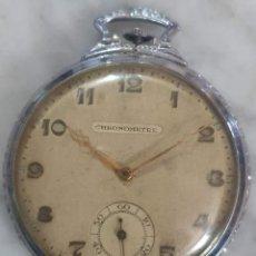 Relojes de bolsillo: RELOJ DE BOLSILLO CHRONOMETRE. Lote 186337295