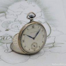 Relojes de bolsillo: CHRONOMETRE-RELOJ DE BOLSILLO -FRANCIA-2 TAPAS-CIRCA 1930-FUNCIONANDO. Lote 130794936