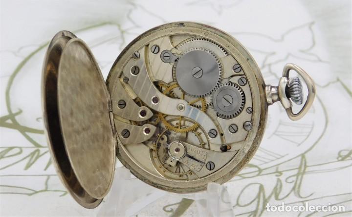 Relojes de bolsillo: CHRONOMETRE-RELOJ DE BOLSILLO -FRANCIA-2 TAPAS-CIRCA 1930-FUNCIONANDO - Foto 4 - 130794936