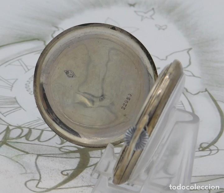 Relojes de bolsillo: CHRONOMETRE-RELOJ DE BOLSILLO -FRANCIA-2 TAPAS-CIRCA 1930-FUNCIONANDO - Foto 3 - 130794936