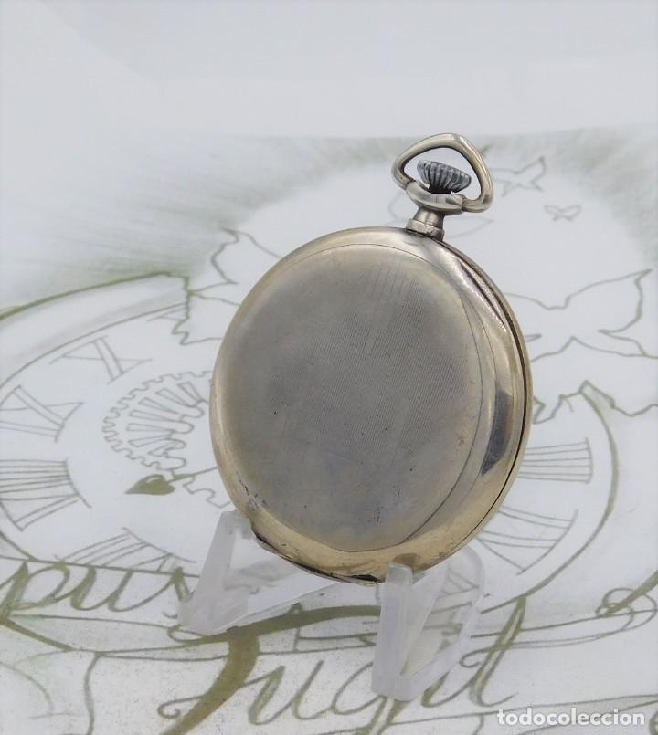 Relojes de bolsillo: CHRONOMETRE-RELOJ DE BOLSILLO -FRANCIA-2 TAPAS-CIRCA 1930-FUNCIONANDO - Foto 2 - 130794936