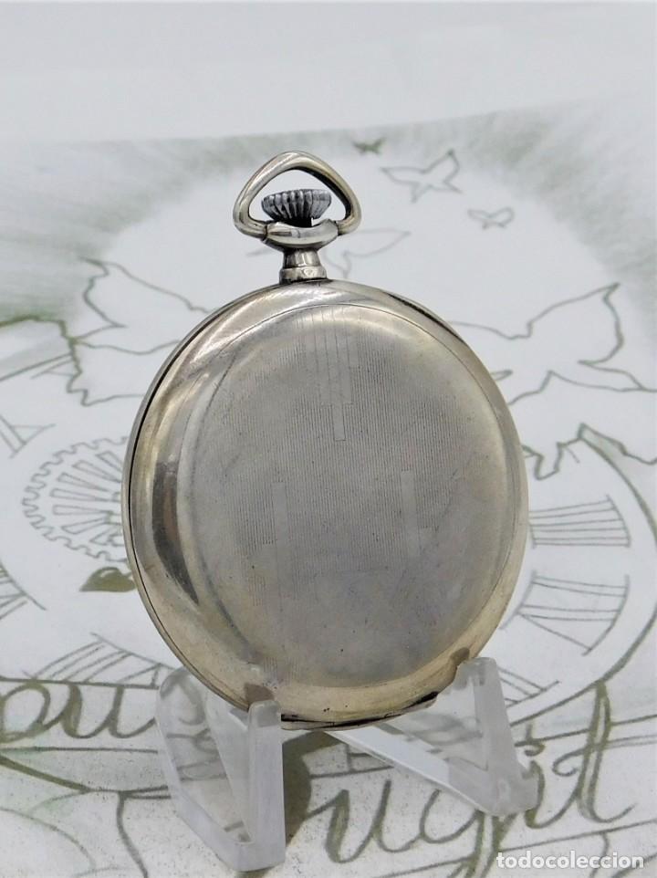 Relojes de bolsillo: CHRONOMETRE-RELOJ DE BOLSILLO -FRANCIA-2 TAPAS-CIRCA 1930-FUNCIONANDO - Foto 7 - 130794936
