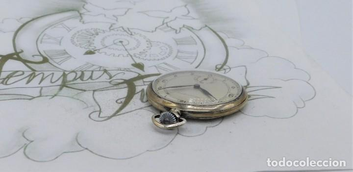 Relojes de bolsillo: CHRONOMETRE-RELOJ DE BOLSILLO -FRANCIA-2 TAPAS-CIRCA 1930-FUNCIONANDO - Foto 9 - 130794936