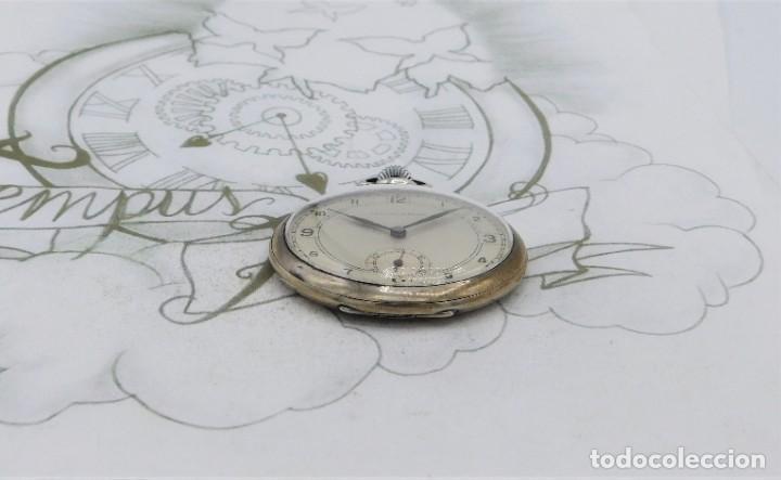 Relojes de bolsillo: CHRONOMETRE-RELOJ DE BOLSILLO -FRANCIA-2 TAPAS-CIRCA 1930-FUNCIONANDO - Foto 10 - 130794936