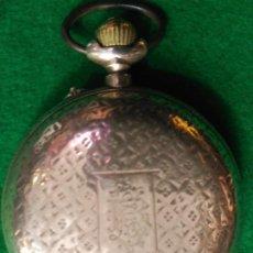 Relojes de bolsillo: RAR0 DE LUJO IMPRESIONANTE RELOJ BOLSILLO ROSKOPF SABONETA PLATA LEY CONTRASTES 140 GM.999,00 €. Lote 186893810