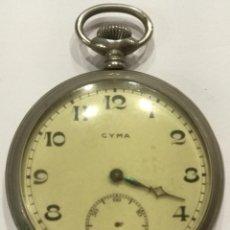 Relojes de bolsillo: RELOJ BOLSILLO CYMA, BREVET.. Lote 187464531