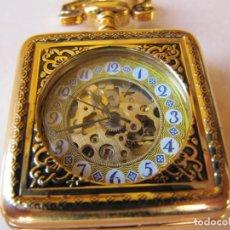 Relojes de bolsillo: RELOJ DE BOLSILLO DE CUERDA. Lote 187531437