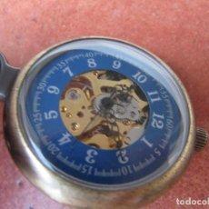Relojes de bolsillo: RELOJ DE BOLSILLO DE CUERDA. Lote 187535212
