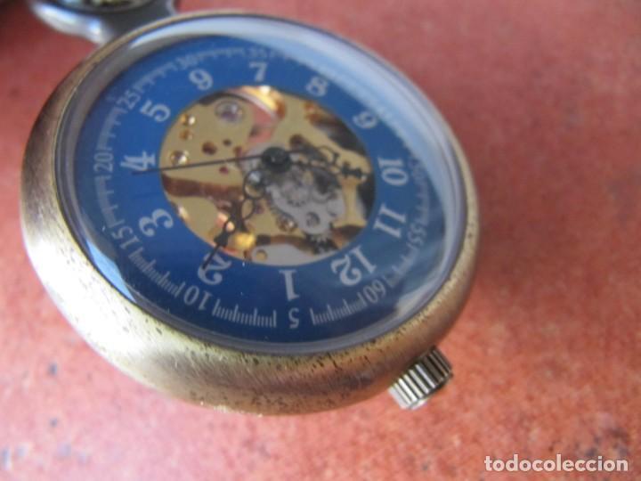 Relojes de bolsillo: RELOJ DE BOLSILLO DE CUERDA - Foto 2 - 187535212