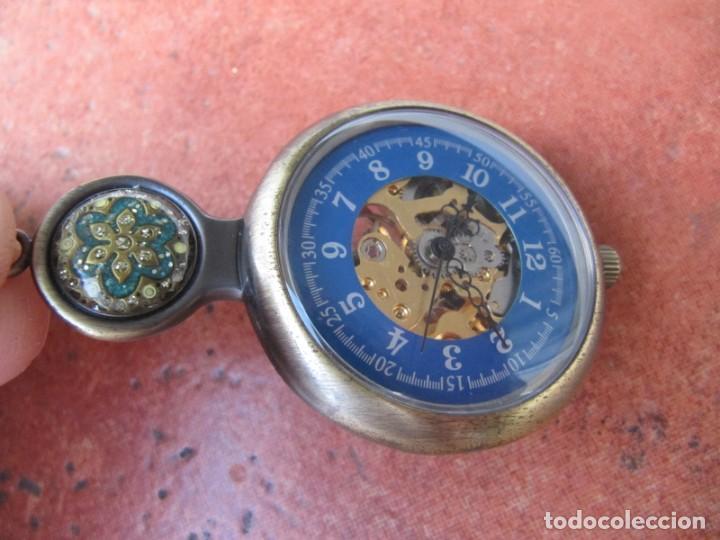 Relojes de bolsillo: RELOJ DE BOLSILLO DE CUERDA - Foto 3 - 187535212