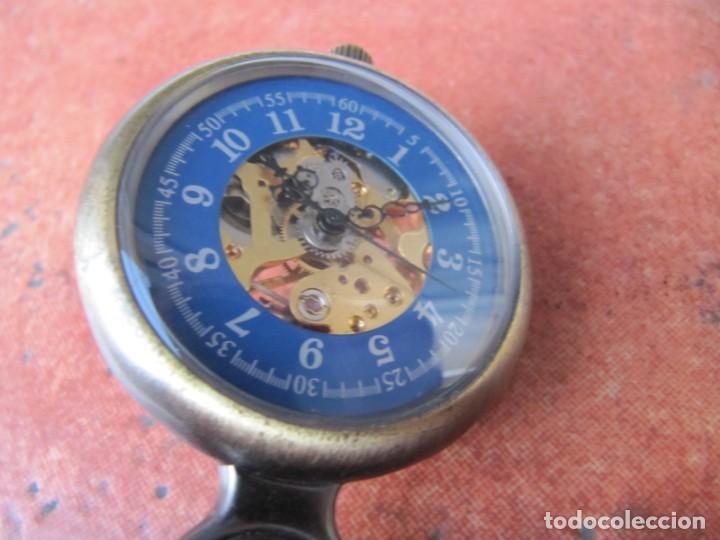 Relojes de bolsillo: RELOJ DE BOLSILLO DE CUERDA - Foto 4 - 187535212