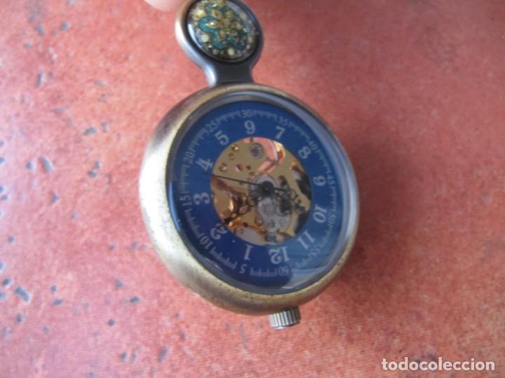 Relojes de bolsillo: RELOJ DE BOLSILLO DE CUERDA - Foto 5 - 187535212