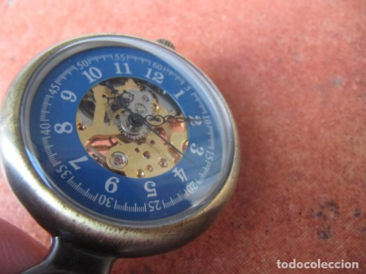 Relojes de bolsillo: RELOJ DE BOLSILLO DE CUERDA - Foto 6 - 187535212